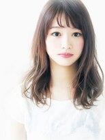 ヘア ジュレ ドゥ(hair jurer deux)【ヘアジュレドゥ 花井】 大人女子 Natural カワイイ☆セミディ