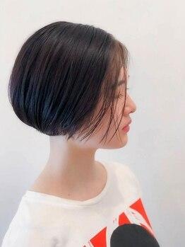 ルーン(roon)の写真/シンプルかつ繊細なデザインのショートヘアスタイルが人気☆あなたの魅力を最大に引き出します!