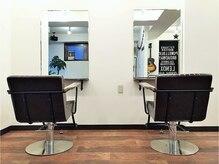 バース ヘアー デザイン(BIRTH hair design)の雰囲気(外からの視線が気にならないプライベート空間が好評です。)