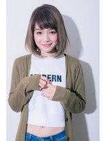 シャインヘアフラッペ 新百合ヶ丘2号店(Shine hair frappe)☆外国人風バレイヤージュ☆【イルミナカラー】