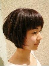 ヘアーフェイヴァリット(Hair Favorite)ひし形シルエットのふんわりボブ