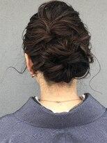 コレットヘア(Colette hair)着物似合うアップスタイル