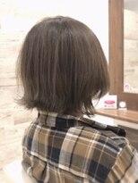 ファムヘアー 新小岩(fam hair)人気のスロウカラー/外ハネボブ【famhair新小岩:寺岡】