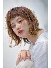 イースタイル 志都呂店(e-style com's hair)ショートバング外ハネボブ、
