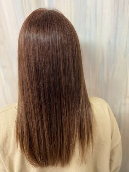 ヘアショップ ホップエム(HAIR SHOP HOP M)の写真/【倉敷/連島近く】《ヘアチューニングコース》髪質という頑固な悩みに縮毛矯正よりお手軽な注目メニュー!