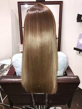 ヘアクリニック レイズ(HAIR CLINIC RAISE)の写真/≪TVで話題!≫【質感矯正ミネコラ¥13800~】水素のチカラで驚きのさらツヤが実現☆髪の芯まで潤う髪へ…♪