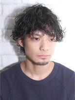 アルバム シブヤ(ALBUM SHIBUYA)スリークショートサイドグラデーションマッシュウルフ_3554