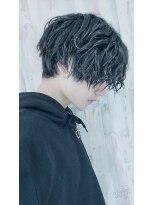 アクシー 渋谷店(AXY)松田翔太風グランジスマートマッシュパーマstylecut3600円