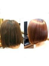 アエル(AER)髪質改善縮毛矯正トリートメント付
