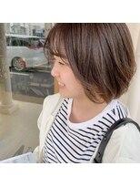 マイ ヘア デザイン(MY hair design)韓国風ボブとシースルーバング