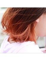 【夏だからこそ】オレンジグラデーションカラー