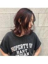 ヘアメイク アプト コンビネーション(HAIR MAKE apt combination)ピンクヴァイオレット