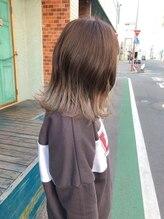 ヘアーメイクアップ ケイズギャラリー(Hair makeup K's Gallery)裾グラデーション