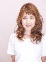ヘアメイクエシェル 小松店(Hair Make e‐shell)セミロングレイヤー