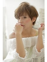 『Lee nishinomiya』大人かわいいふんわりベリーショート