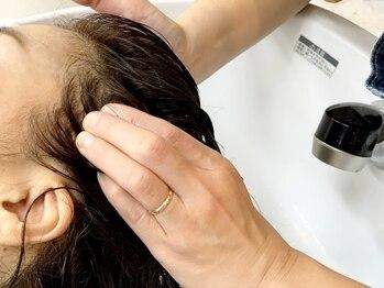 ルアナモア(LUANAMOA)の写真/キレイな髪は頭皮から!毛穴の汚れをサッパリ落として血行促進♪メンズの方も大歓迎!