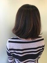 ヘアーアンドメイク ポッシュ 日暮里店(HAIR&MAKE POSH)Is cheerful; is a style softly