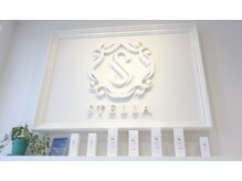ステラ ヘアモード 新長田店(STELLA hair mode)の雰囲気(受付のバックには、大きなSTELLAのロゴが皆様をお迎えします☆)