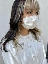 アンメリーアン(Ann merry ann)【stylist hikari】顔まわりデザインカラー