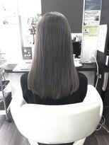 ヴィオレッタ ヘアアンドスペース(VIOLETTA hair&space)ラベンダーグレージュ×セミロング×透明感