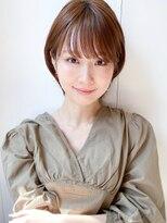 トゥーナ 表参道(tona)10代20代30代40代50代60代ショートパーマ黒髪ピンクベージュボブ