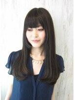 デュークシルア(du c Sila)艶ナチュ黒髪ロング 【正田】