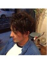 ヘアメイク オブジェ(hair make objet)アシメパーマ
