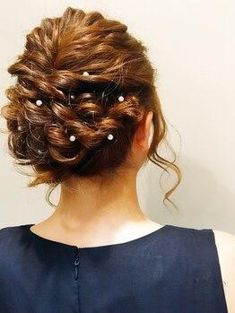 ヘアーフィックス リュウアジア 越谷店(hair fix RYU Asia)の写真/カジュアルなセットからエレガントなアップスタイルまであなたの大切な1日をRYU Asiaがプロデュース!