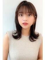カヤックバイハニー 渋谷店(KAYAK by HONEY)【HONEY】愛され女子の外ハネミディアム