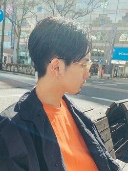 コモン(common)の写真/【大通駅◇徒歩3分】個室&理容室併設salon♪モードからカジュアルまで幅広いメンズヘアを提案!