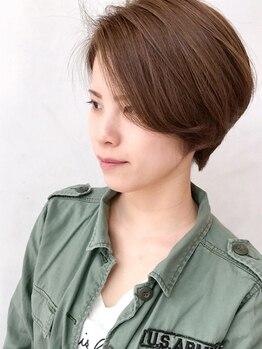 グミグミ(Gumi Gumi byIfh)の写真/培ったカット技術でサロン帰りスタイルが続く♪ショートカットが初めての方もお気軽に相談してください◎