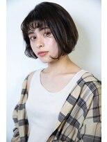 マウロア(MAULOA)【MAULOA】黒髪スタイル ミニボブ 大人かわいい