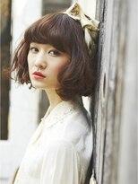 ジーナハーバー(JEANA HARBOR)[JEANAHARBOR表参道]大人かわいい前髪スタイル