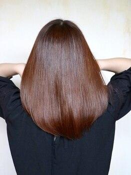 カルペ ディエム(CARPE DIEM)の写真/髪質や悩みに合わせて髪のケアを提案をしてくれるから、理想の憧れ美髪の仕上がりに…♪