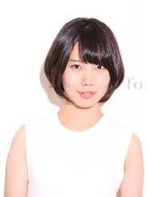 デザインフォーヘアー(De:sign for Hair)【De:sign for Hair】シンプルな愛されショートボブ☆