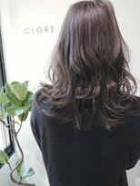 クロレ(CLORE)大人かわいいシークレット3Dカラーグレージュ