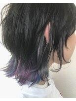 ヘアーサロン リアン 熊谷2号店(hair salon Rien)#マッシュウルフ#ユニコーンカラー