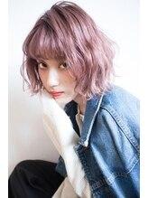 エイト 福岡天神店(EIGHT fukuoka)【EIGHT new hair style】ミニボブ★ラベンダーピンク