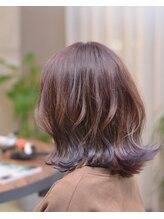 ルルアンドロロ(Lulu&Lolo)【イルミナカラー】ピンク×紫