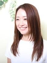 オーガニックサロン フェイス 梅田店(organic salon face)涼風美人 憧れのサラツヤロング