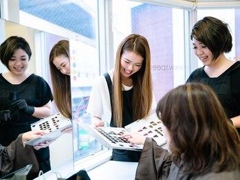 スピーディー 恵比寿店(SPEEDY)の写真/[恵比寿駅1分]女性スタッフ多数在籍☆女性ならではの共感力で納得した仕上がりをご提案♪