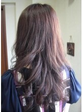 パーマハウスマリオンナチュラルなデジ+縮毛スタイル