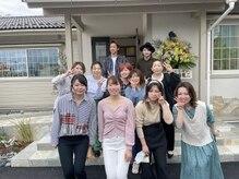 TJ天気予報 1t 津島店の雰囲気(一年生も加えて新生津島店スタッフです!よろしくお願いします!)