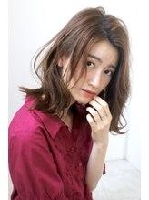 ヘアロジー(HAIRLOGY AVEDA)【HAIRLOGY】大人かわいいナチュラル外ハネロングボブ by鈴木