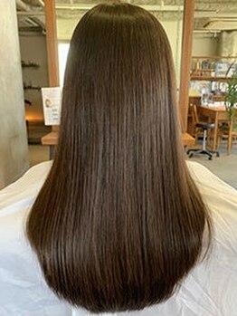 ルーディ(Ludi)の写真/Ludi自慢の【髪質改善水素トリートメント】でリフレッシュ☆髪の毛にハリとコシそして艶を与えます♪