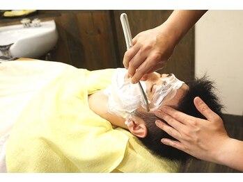 ヘアーデザイン ソレイユ 久米川店(Hair Design SOLEIL)の写真/久米川駅徒歩5分!【シェービング】が出来るサロンは貴重!! 【メンズフェイシャルエステ】も大人気☆