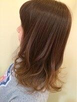 モイヘアーデザイン(moi hair design)夏グラデーション