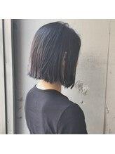 ヘアーメイク スクエア ウーノ(HAIR MAKE SQUARE uno)切りっぱなしボブ