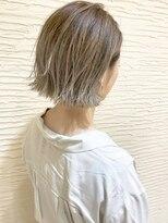 【morio】札幌ボブ 秋のグラデーションカラー×外ハネボブ