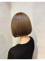 ツミキ ヘアーデザイン(TSUMIKI hair design)ハイトーンミニボブ